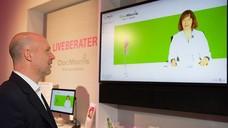 2014 präsentierte DocMorris seinen Live-Berater. Bald könnte er in alten Apothekenräumen zum Einsatz kommen. (Foto: DocMorris)