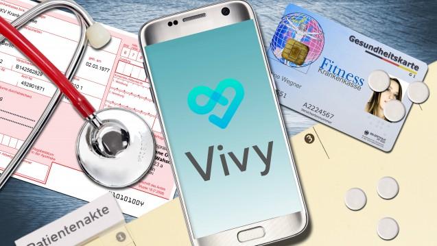 """Die digitale Gesundheitsakte """"Vivy"""" ist im September an den Start gegangen. (s / Foto: imago)"""