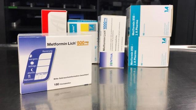 Die EMA und das BfArM teilen mit, dass es derzeit keine Daten dafür gebe, dass verunreinigtes Metformin in der EU gelandet ist. (Foto: privat)