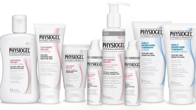 Die Physiogel-Linie umfasst eine Reihe von Hautpflegeprodukten insbesondere für trockene, empfindliche und gereizte Haut, die frei von Parfüm und Farbstoffen sind. ( t / Foto: Klinge)