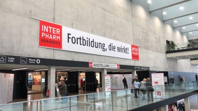 Die INTERPHARM findet dieses Jahr in Berlin statt. (Foto: jb / DAZ.online)