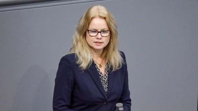 Die Grünen-Gesundheitspolitikerin Kirsten Kappert-Gonther will mit Cem Özdemir gemeinsam Fraktionsvorsitzende werden. (c / Foto: imago images / M. Popow)