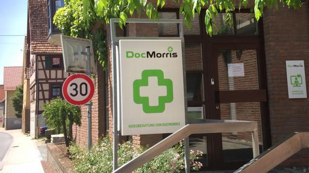 Die DocMorris-Videoberatung in Hüffenhardt bleibt geschlossen. (Foto: diz)