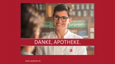 """Patienten sollen ihrer Apotheke """"Danke"""" sagen mit einer Postkarte, die sie in der Umschau finden. (Foto:Wort & Bild Verlag)"""