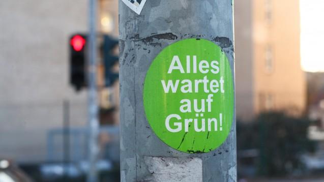 Das neue Grundsatzprogramm der Grünen soll im November vorgestellt werden. (Foto: picture alliance / Wolfram Steinberg)