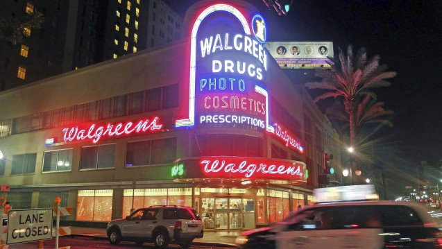 In den USA übernimmt der Pharmahandels-Gigant Walgreens Boots Alliance derzeit Rite Aid, was die Quartalszahlen des Konzerns belastet. (Foto: picture alliance / AP Photo)