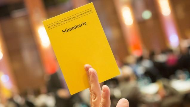 PTA-Ausbildung: Hauptversammlung sieht Gesetzgeber gefordert. (Foto: A. Schelbert)