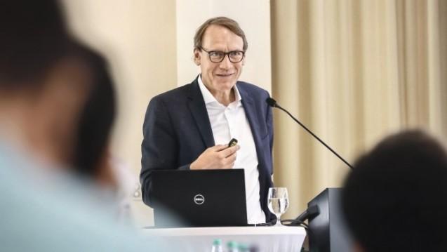 Beim 6. Existenzgründer-Workshop in Düsseldorf ging es (unter anderem mit Verbandschef Thomas Preis) um die Apothekengründung in apothekenpolitisch gesehen turbulenten Zeiten. ( r / Foto: AVNR / Müller)