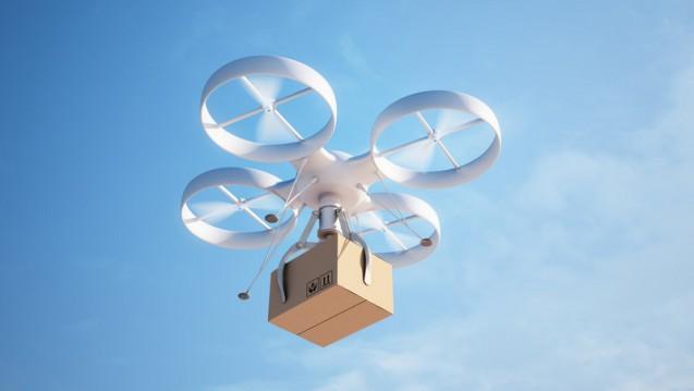 OTC per Drohnen-Lieferung: Amazon setzt zunehmend auf OTC. (Foto: Mopic / Fotolia)