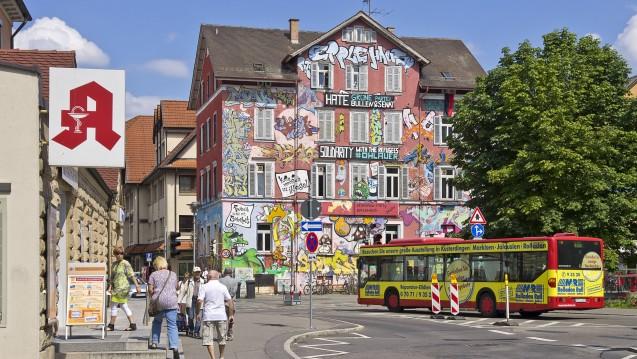 Laut einer Studie der AOK Baden-Württemberg ist die Versorgungsdichte im Bundesland sehr heterogen (hier Tübingen). (Foto: Imago)
