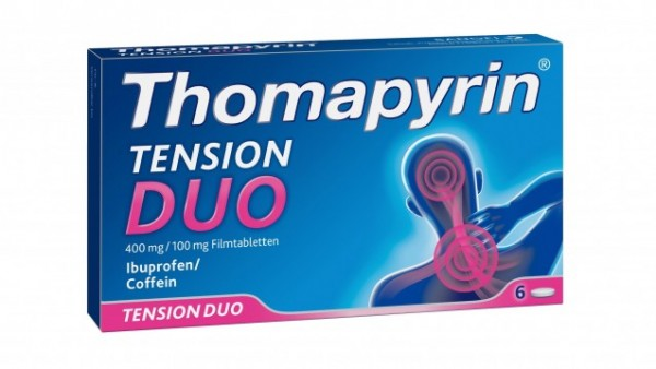 Thomapyrin Tension Duo erreicht die Apotheken