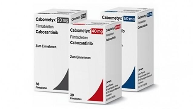Das 2016 in den Markt eingeführte Cabometyx wird gegen Nierenkrebs eingesetzt und befindet sich derzeit in der frühen Nutzenbewertung (Foto: Ipsen Pharma)