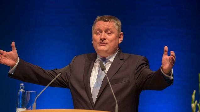 Letztes Jahr besuchte Minister Gröhe den DAT - dieses Jahr in Düsseldorf lässt er sich vertreten. (Foto: A. Schelbert)