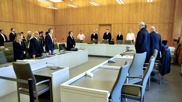 Auf dem Zeugenstuhl nahmen am heutigen Freitag mehrere frühere Kollegen des Zyto-Apothekers Platz. (Foto: hfd)