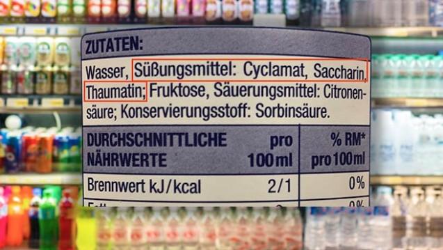 Sind in einem Lebensmittel Süßungsmittel zugesetzt, so müssen diese in der Zutatenliste aufgeführt werden. ( r / Foto: phubadee / stock.adobe.com/privat)
