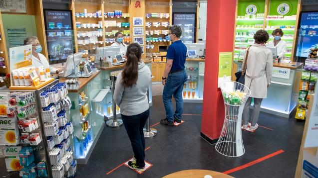 Apotheke in Coronazeiten – was sollte aus der Krise mitgenommen werden? (Foto: Schelbert)