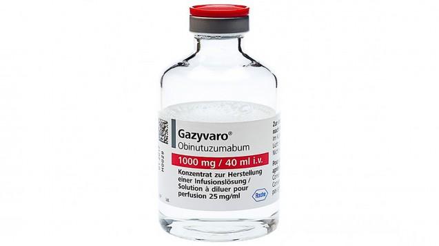 Die AkdÄ sieht bei Gazyvaro bei follikulärem Lymphom keinen Zusatznutzen gegenüber Rituximab. (Foto: Roche)
