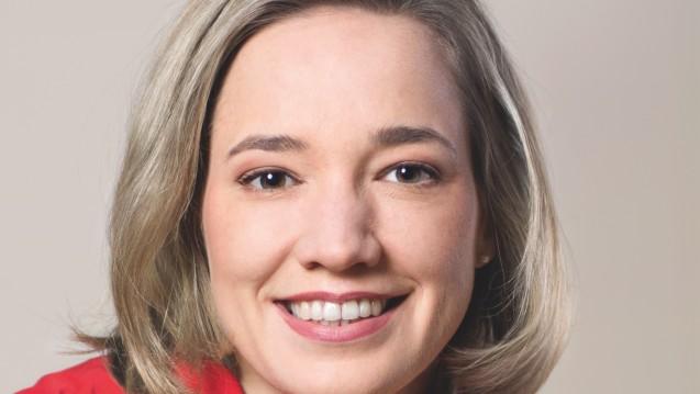 Kirstina Schröder hat ein offenes Ohr für die Pharmaunternehmen. (Foto: Laurence Chaperon)