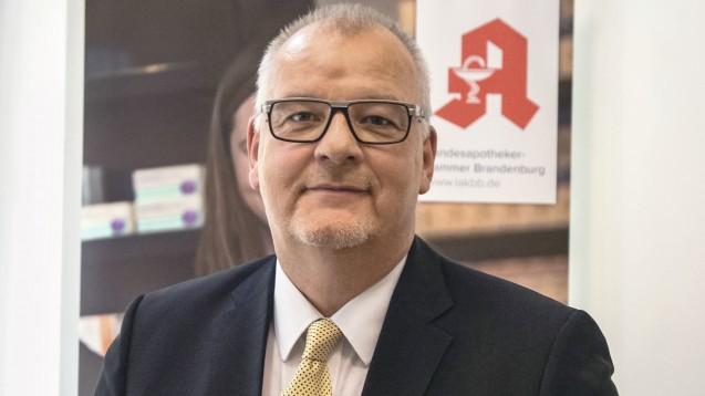 Brandenburgs Kammerpräsident Jens Dobbert bleibt bei seinem kritischen Kurs gegenüber der ABDA. (b/Foto: LAK Brandenburg)