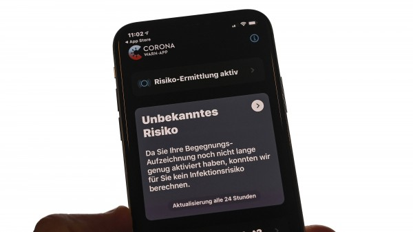 Regierung stellt Corona-Warn-App vor