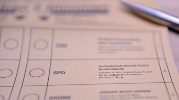 Union und SPD: Herbe Verluste auch in Hessen, wieder profitieren Grüne und AfD