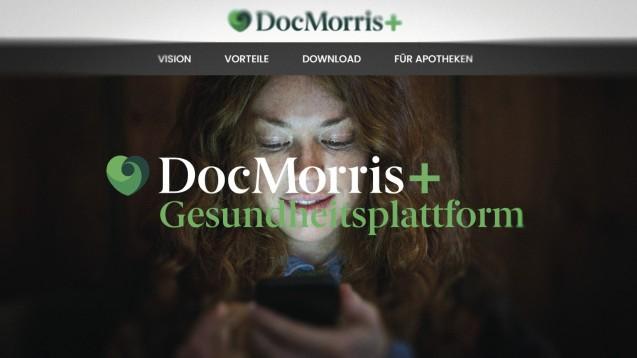 DocMorris will digitaler Rundum-Versorger werden. (x / Screenshot: www.docmorris-plus.de)