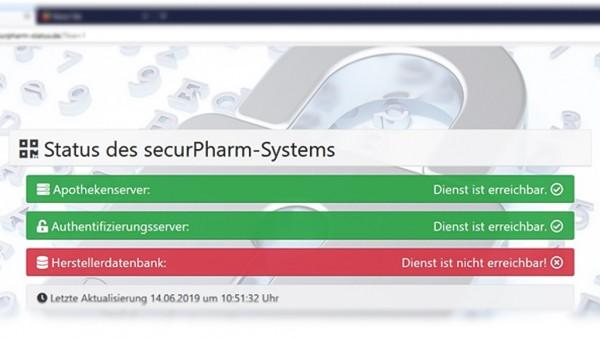 Der Server des Fälschungsschutzsystems bereitet europaweit Probleme