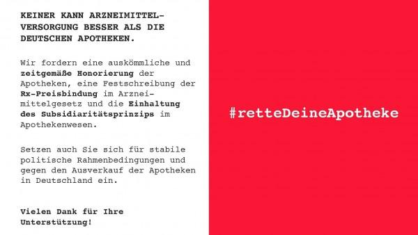 Apotheker schreiben Postkarten an Bundestagsabgeordnete