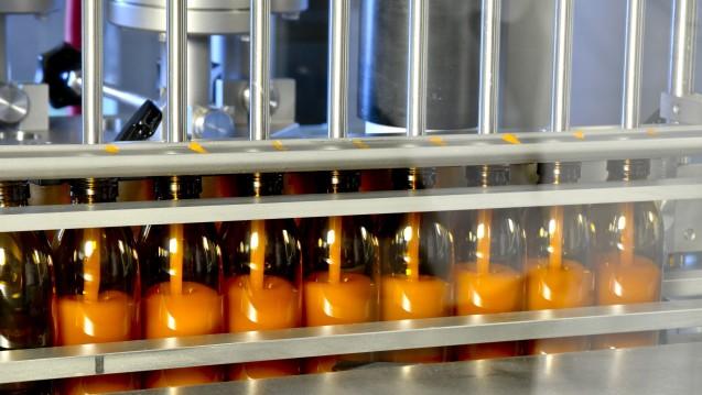 ben-u-ron-Produktion im dritten Stock, bene-Hauptsitz. Im Münchner Vorort Solln werden jedes Jahr 19 Millionen Packungen Tabletten, Zäpfchen und Kapseln gefertigt. (Fotos (5): Unternehmen)