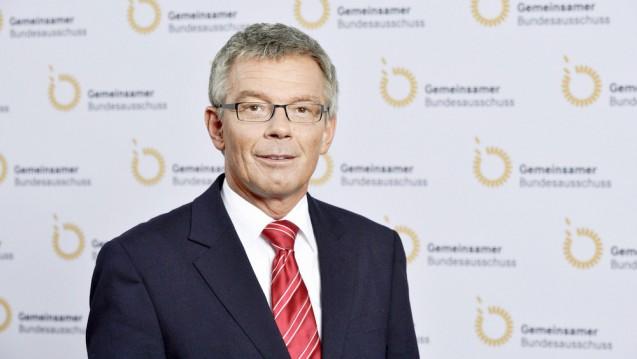 G-BA-Chef Josef Hecken fordert, dass teure Krebsarzneimittel in der Nutzenbewertung künftig strenger überprüft werden sollen. (Foto: G-BA)