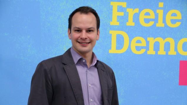 Mehr Qualität mit Ketten: Matthias Fischbach, Beisitzer im FDP-Landesvorstand in Bayern, denkt über einen neuen Anlauf für die Apothekenmarkt-Liberalisierung nach. (Foto: FDP Bayern)