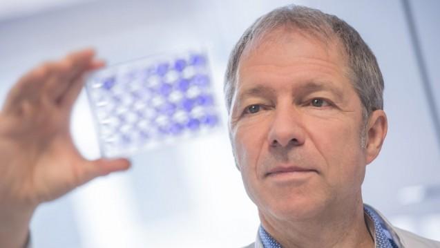 Grundlagenforschung für neuartige Arzneimittel: Der Heidelberger Virologe Ralf Bartenschlager erhält den Lasker-Preis. (Foto: Uniklinik Heidelberg)