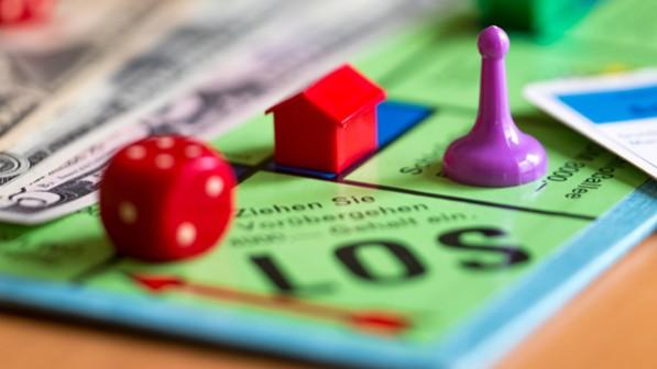 Monopoly mit Govi, WUV und VGDA
