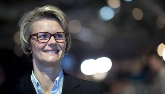 Relativ überraschend nominierte Merkel Anja Karliczek (46) als neue Bildungsministerin. Die NRW-Politikerin sitzt erst seit 2013 im Bundestag und kümmerte sich in den vergangenen vier Jahren um Finanzpolitik. (Foto: Imago)