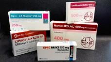 Gibt es demnächst weniger Fluorchinolon-Rezepte? Das BfArM schränkt viele typische Hausarzt-Indikationen von Ciprofloxacin&Co wegen des Risikos für schwerwiegender Nebenwirkungen ein. ( r / Foto: Schwanenapotheke Stuttgart)