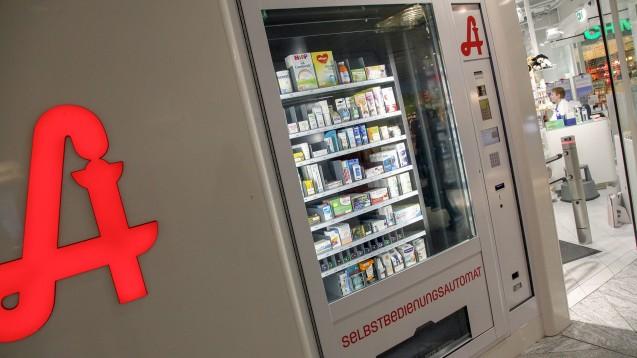Medikamenten-Abgabeautomaten