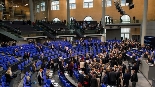 Am 11. November stimmte der Bundestag überÄnderungen des Arzneimittelgesetzes ab. (Foto:dpa)