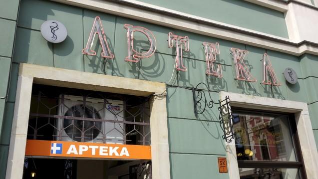 Polnische Apotheken profitieren von einem Programm, das Senioren mit kostenlosen Arzneimitteln versorgt. (Foto: dpa)