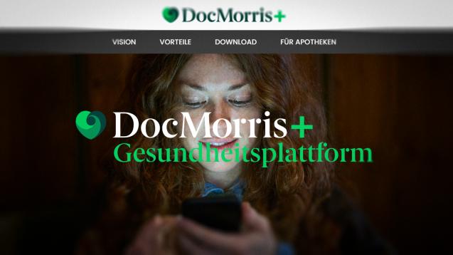 DocMorris ist sowohl Versandapotheke als auch Plattformbetreiber – das könnte den Niederländern beim E-Rezept Wettbewerbsvorteile verschaffen. (Screenshot: docmorris-plus.de)