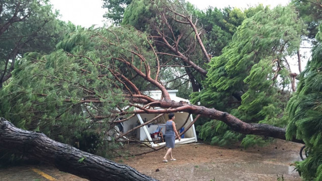 Norditalien ist von schweren Unwettern heimgesucht worden.(Foto: dpa)
