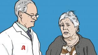 Eine Patientin mit Koronarer Herzkrankheit