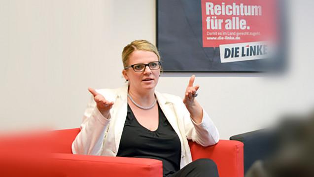 Die Anfrage zum Apothekenmarkt im sächsischen Landtag stammt vonder gesundheitspolitischen Sprecherin der Linksfraktion, Susanne Schaper. (Foto: Bürgerbüro Schaper)