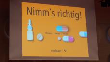 """Unter dem Motto """"Nimm´s richtig"""" started das Projekt """"MeinPlan"""" (Foto: DAZ / ms)"""