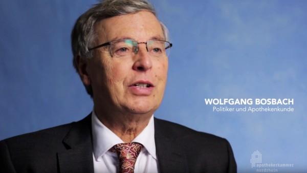Wolfgang Bosbach wirbt für Apotheken