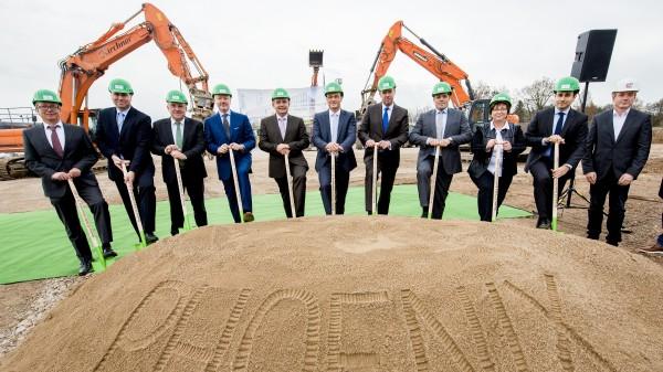 Baubeginn für neues Vertriebszentrum in Gotha