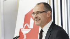 Stefan Fink, Vorsitzender des Thüringer Apothekerverbandes, betonte die Bedeutung der Apotheker für den Medikationsplan. (Foto: ck / DAZ)