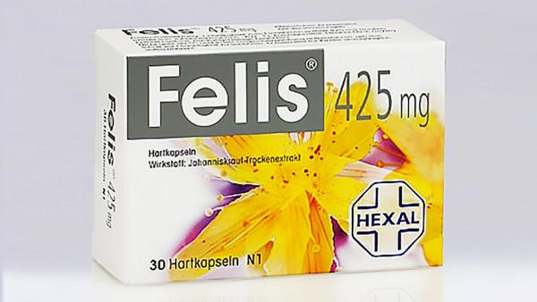 Pyrrolizidinalkaloide inFelis-Kapseln