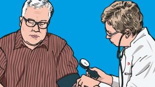 Ein älterer Patient mit Typ-2-Diabetes und metabolischem Syndrom