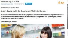 AutorChristoph Winnat hat das EuGH-Urteil in der Ärzte Zeitung kommentiert. (Foto: Screenshot)