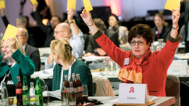 Veto aus Hessen: Präsidentin Ursula Funke und ihre Kammer warnen vor den Auswirkungen des Spahn-Plans. (b/Foto: Schelbert)